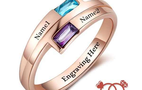 Introducing Birthstone Rings For Mom
