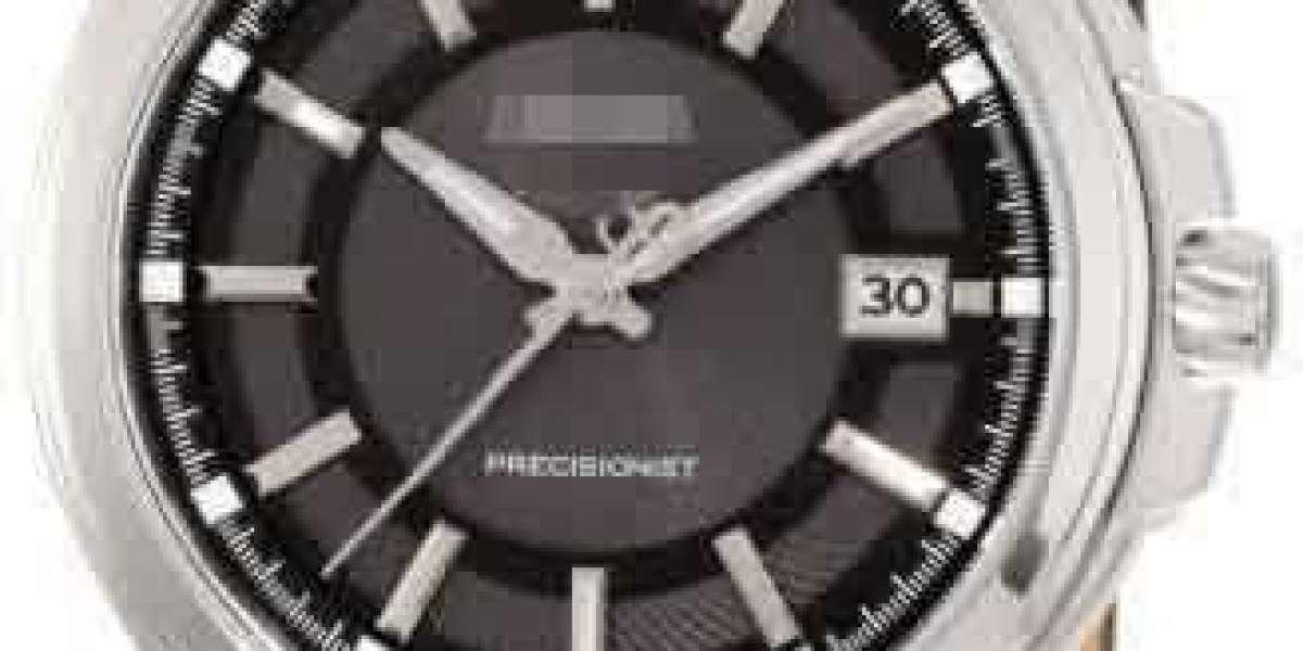 Customize Fashion Elegance Black Watch Face