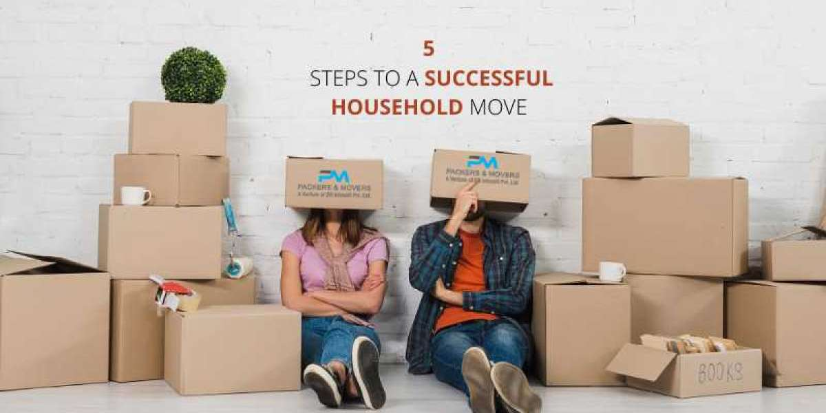 5 steps to a successful household move