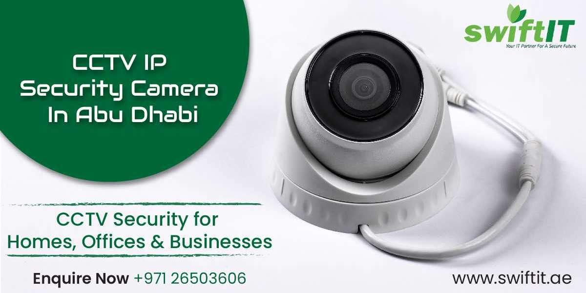 CCTV IP Camera & IT Solutions Company Abu Dhabi